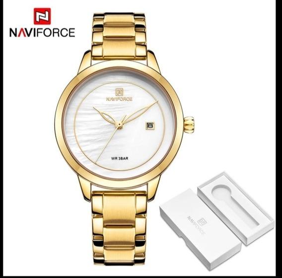 Relógio Feminino Naviforce Original Prova D