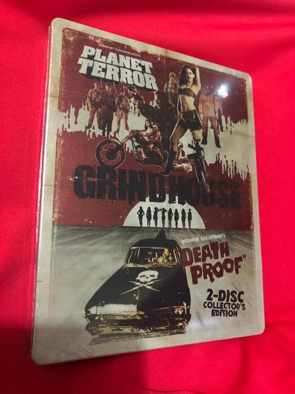 Grindhouse Deathproof & Planet Terror Steelbook Tarantino