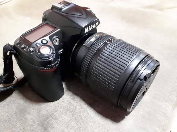 Câmera Nikon D90 + Tele 18-105 Com Capa