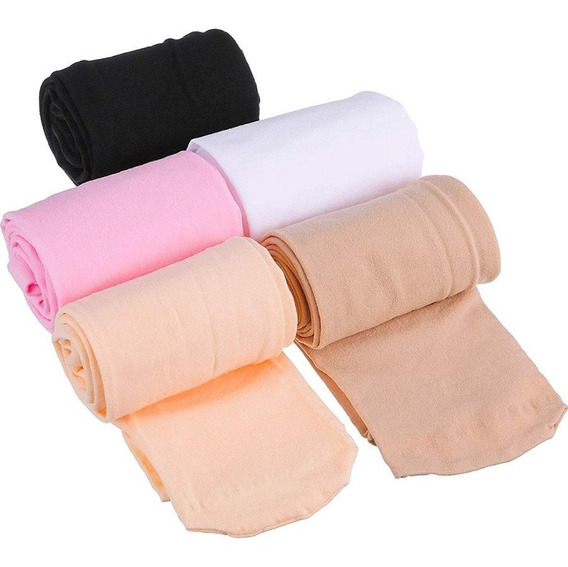 Medias Panty Para Niñas,blancas,negras,color Piel,rosa, Azul