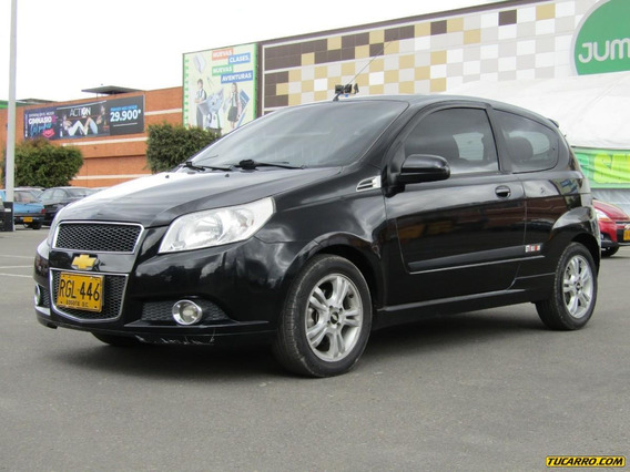 Chevrolet Aveo Emotion Gt Mt 1600cc Aa Ab Abs