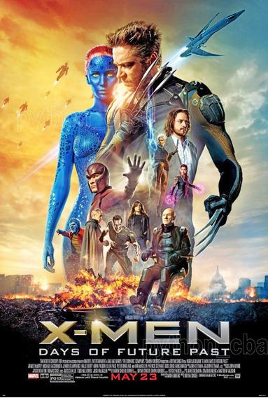 Hermosos Pósters Saga X Men Wolverine Logan - 120x85 Cm
