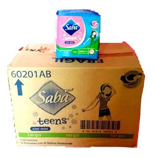 Toalla Fem Saba Teens Con Alas 36 Bolsas Con 10 Toallas