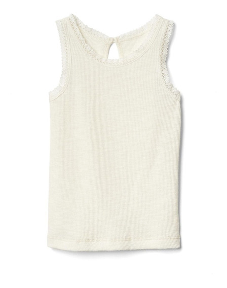 Camiseta Regata Gap Infantil Menina