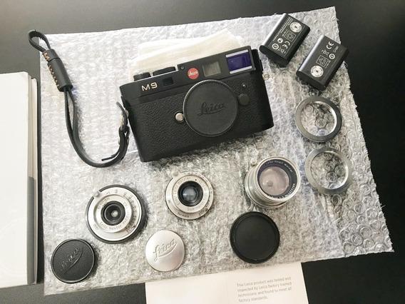 Camera Leica M9 Kit. Sensor Novo.