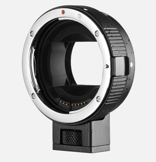 Auto Foco Ef-nexii Adaptador De Lente Canon Camera Para Sony
