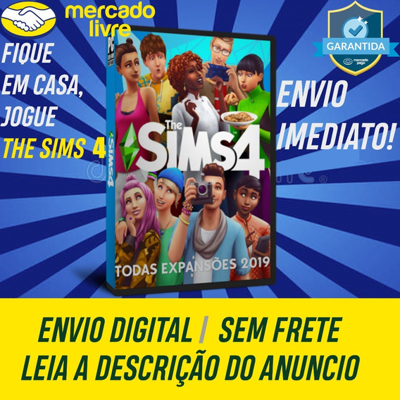 The Sims 4 Todas As Expansões Digital Pc Offline