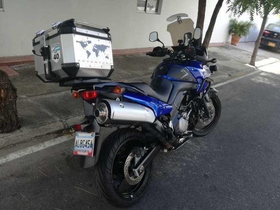 Moto Suzuki V-strom 650 Dl - Azul