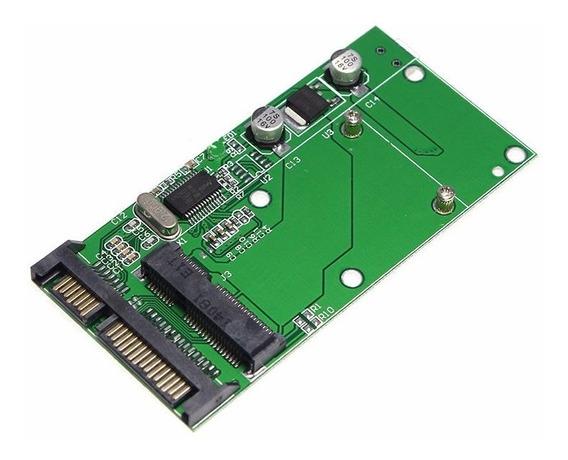 Adaptador Conversor Msata Mini Pci-e Ssd 50mm Para Sata 2.5