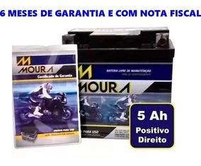 Bateria Moura Nxr Bros 150 2003 2004 2005 Ma5d Ref Ytz6
