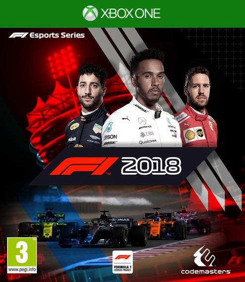 F1 2018 Formula 1 2018 18 - Xbox One Mídia Digital Original