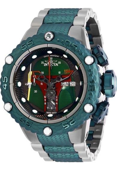 Relógio Invicta 27169 Star Wars Boba Fett Edição Ltda + Nf