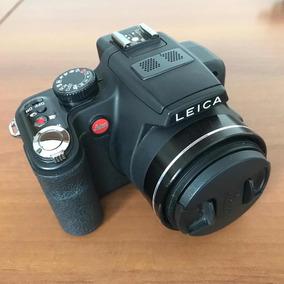 Leica V-lux 2 C/ Carregador Bateria E Cartão
