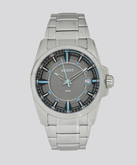 Relógio Orient Masculino Mbss1317 Gasx Aço Analogico Azul