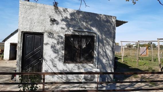 Terreno Con Casa Sin Terminar