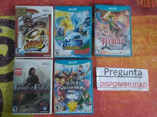 Lote Juegos Wii Y Wiiu