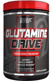 Glutamine Drive 300g Glutamina 5g Nutrex Importado Usa
