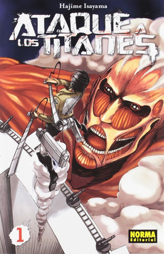 Imagen 1 de 5 de Shingeki No Kyojin Attack On Titan Ataque A Los Titanes # 1