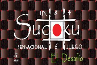 Sudoku Sensacional El Desafío - Caja Grande Juego De Mesa