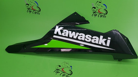 Spoiler Kawasaki Ninja 300 Lado Dir Risco No Adesivo