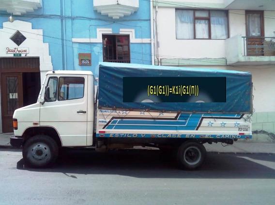 Vendo Camion Flamante Mercedes Benz L914 Año 2002. Diesel