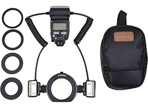 Flash Yongnuo Yn24ex Ttl Macro Twin Canon 12x S/juros