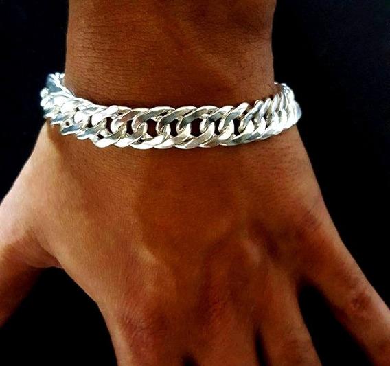 Pulseira Bracelete Prata 925 Grumet Frete Gratis