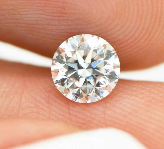 Diamante Natural 56 Pts, Certificado Igl Cor H Vs2 Ex Cut