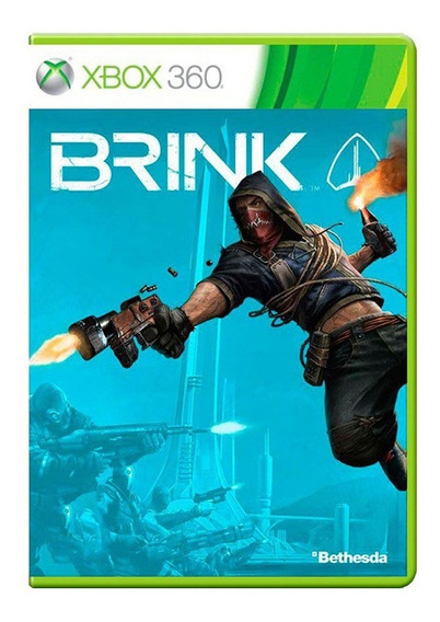 Brink - Xbox 360 - Usado - Original - Midia Física