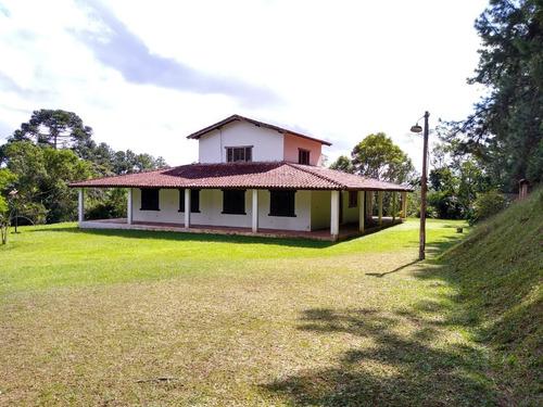 Sítio Com Excelente Casa Sede (estilo Colonial) À Venda Em Juquitiba/sp - 418 - 33786470