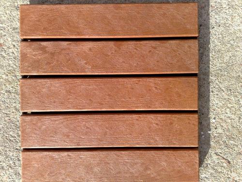 Deck De Madera Ecológica Para Jardines, Piscinas, Azoteas