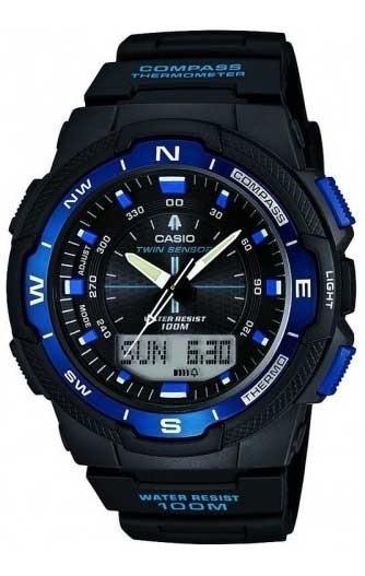 Relógio Casio Masculino Digi/ana Sgw-500h-2bvdr *bússola/ter
