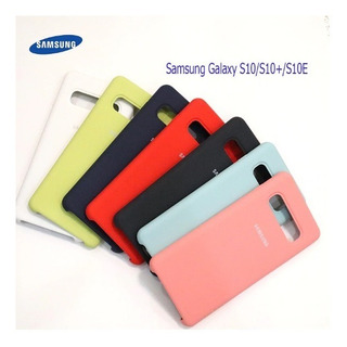 Capinha Silicone Original Samsung S10e Pronta Entrega