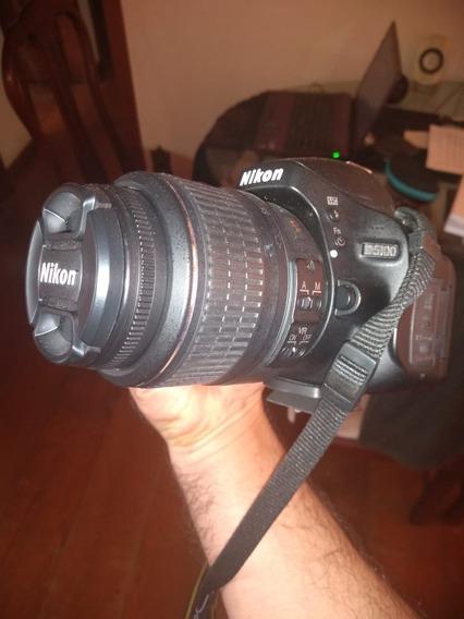 Camera Nikon D5100 Semi-nova, Menos De 2.000 Fotos Tiradas