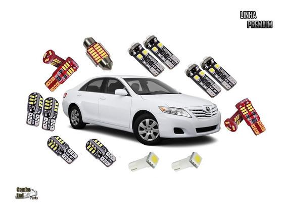 Lâmpadas Led Para Toyota Camry Super Brancas Efeito Xenon