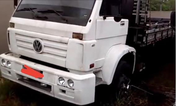 Leilão - Caminhão Volkswagen 14.220 - Ano 1998