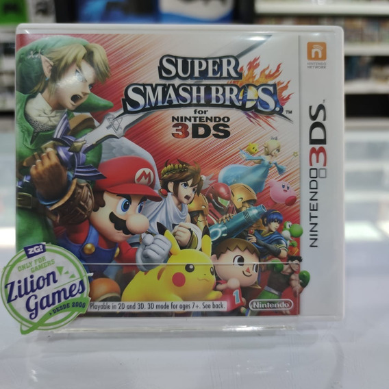 Super Smash Bros Nintendo 3ds - Completo
