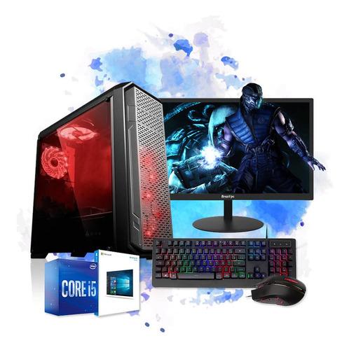 Imagem 1 de 6 de Pc Gamer Completo I5 8gb Hd 500 Placa De Video Monitor