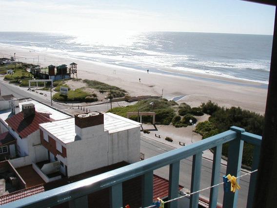 Departamento Mardeajo Frente Al Mar Para 4 Piso 8 C/balcon