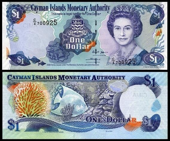Cayman Islands Ilhas Caimã P-33d Fe 1 Dollar 2006 * C O L *