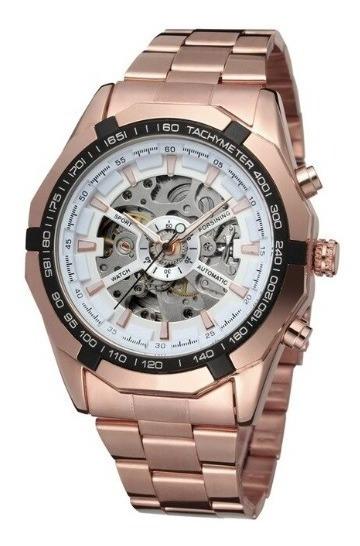Relógio Automático Winner Prateado, Preto E Outras Cores