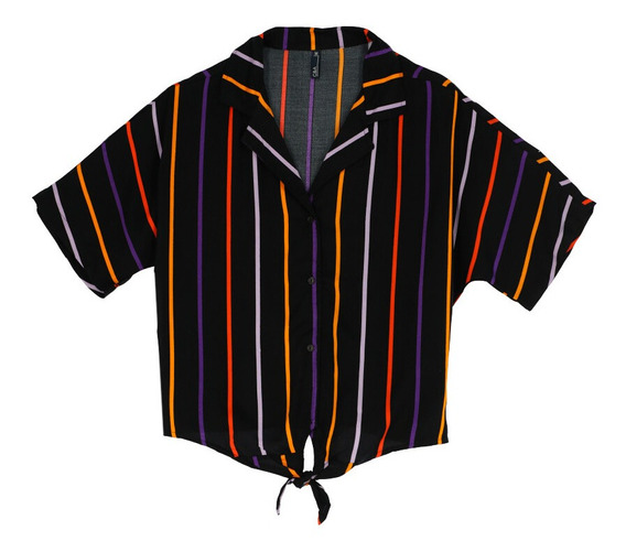 Camisa Casual De Mujer C&a Corte Boxy