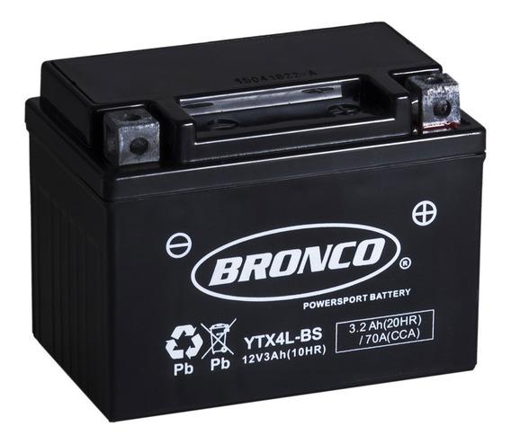 Bateria Bronco Ytx4l-bs