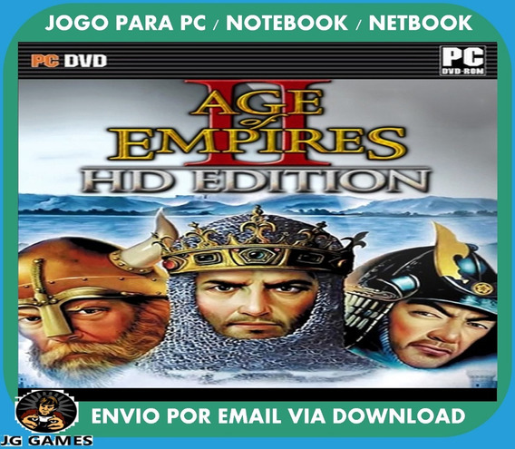Age Of Empires 2 Hd Pc Jogo Digital