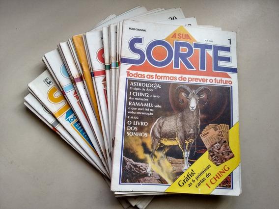 Lote De Revista A Sua Sorte Do Número 1 Ao 43 Ano 1985 D418