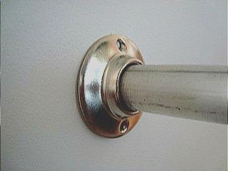 Closet Tubo Acero C/soportes Cromado Hasta 2.20 Mt De 1