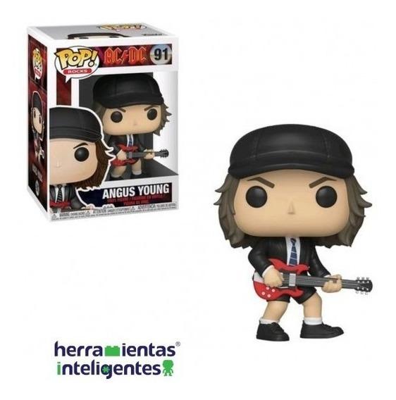 Angus Young Figura Vinil Heavy Metal Rock Funko Pop Ac/dc
