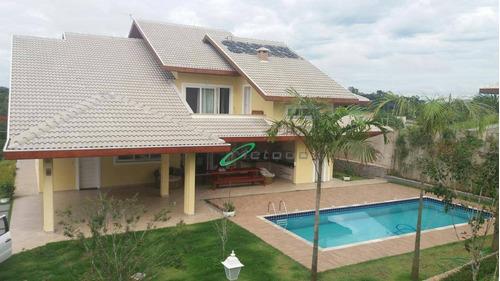 Casa Com 4 Dormitórios À Venda, 440 M² Por R$ 2.300.000,00 - Parque Residencial Jequitibá - Jacareí/sp - Ca0058