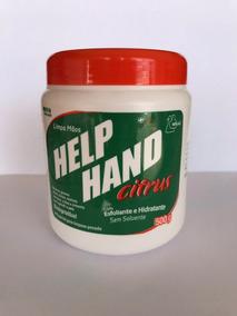 Help Hand Citrus Limpa Mãos Pote 500g - Henlau