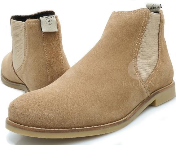 Bota Chelsea Masculina Urbana Boots Botina Country Couro